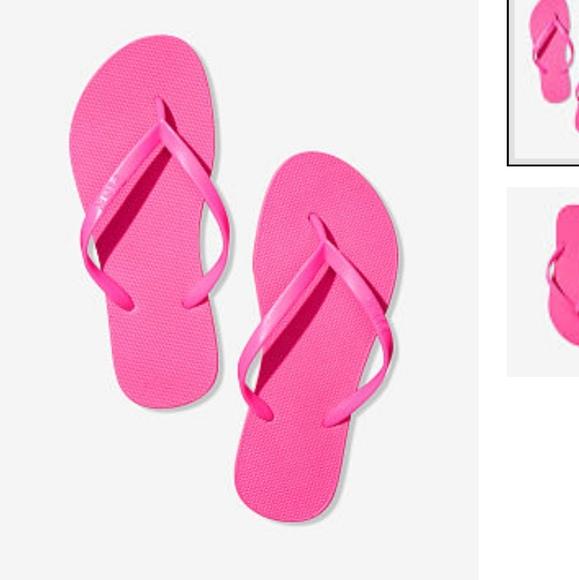 Pink Victorias Secret Flip Flops | Poshmark